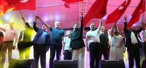 Beyşehir'de demokrasi şöleni