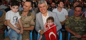 Cizre'de 15 Temmuz etkinliği