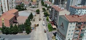 Başkan Palancıoğlu yol çalışmalarını inceledi