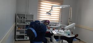 Sincik İlçe Devlet Hastanesine yeni diş ünitesi