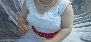 Down sendromlu kıza damatsız düğün