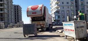 Adıyaman'da çöp konteynırları günlük temizleniyor