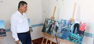 Çanakkale'de İHA'nın '15 Temmuz'  fotoğraf sergisi açıldı