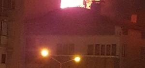 Nazilli'de apartmanda yangın