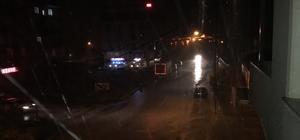 Muradiye'de serinleten yağmur