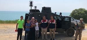 Kaybolan çocukları jandarma ekipleri buldu