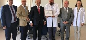 """Türk Tıbbi Onkoloji Derneği'nden ESOGÜ Tıp Fakültesi'ne """"Yeterlik Belgesi"""""""