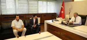 Başkan Çelik, Makine Mühendisler Odası yönetimi ile bir süre görüştü