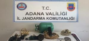 Petrol boru hattında hırsızlık yapan 2 kişi yakalandı