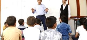 Fadıloğlu kuran kursu öğrencileriyle bir araya geldi