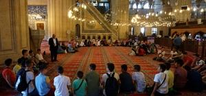 Soydaş öğrenciler Edirne'de Kur'an öğrenecek