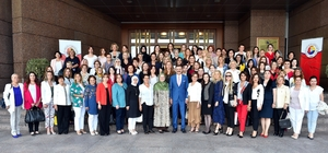 TOBB Kadın Girişimcileri İl Başkanları Hisarcıklıoğlu ile bir araya geldi