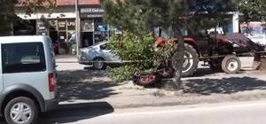 Bayburt'ta trafik kazası: 1 ölü 1 yaralı