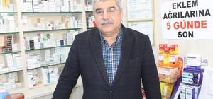 """Niğde Eczacı Odası Başkanı Nihat Öztürk; """"Eczacılar eşdeğer ilaç verme hakkına sahiptir"""""""