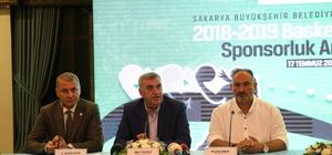 Sakarya Büyükşehir Belediyespor'a isim sponsoru