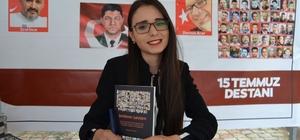 """Genç yazarın ilk kitabı """"Şehitlerin Şahitleri"""" çıktı"""