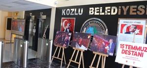 Kozlu Belediyesi'nde 15 Temmuz şehitleri anısına fotoğraf sergisi
