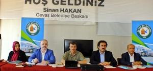 Gevaş'ta AK Parti Yerel Yönetimler İstişare Toplantısı