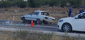 Dursunbey'de kaza: 1 ölü, 2 yaralı