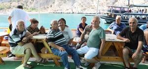 Emekliler Akdeniz'i yeniden keşfetti