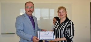 Kalite eğitiminde sertifikalar verildi