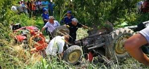 20 yıl sonra aynı yerde kahreden tesadüf 20 yıl önce oğlunu devrilen traktörün altında kaybeden baba, aynı şekilde aynı yerde kendisi de hayatını kaybetti