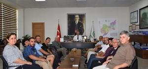 Başkan Albayrak, ÇEKÜL temsilcilerini ağırladı