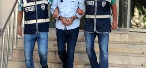 32 yıl 10 ay hapis cezası bulunan şahıs yakınlarına ziyarete gelince yakalandı
