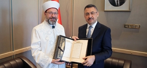 Cumhurbaşkanı Yardımcısı Oktay'a hayırlı olsun ziyaretleri