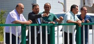 Başkan Uysal, Kepez Mahallesi'nde çalışmaları inceledi