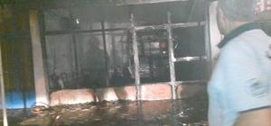 Yahyalı'da dürümcü dükkanında patlama