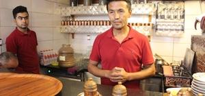 (Özel) Afganistan'da polisti, Gaziantep'te kahve ustası oldu