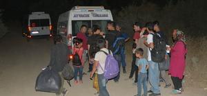 Çanakkale'de 48 yabancı uyruklu yakalandı