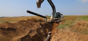 Yumurtalık-Burnaz eski içme suyu hattı yenileniyor