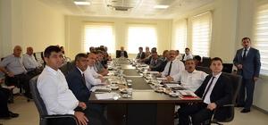 İl Milli Eğitim Müdürlüğü Yatırımlar Toplantısı