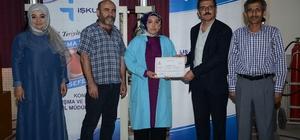 Sayacılık kursunu tamamlayan kursiyerler sertifikalarını aldı