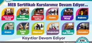 Haliliye belediyesinde kurs kayıtları devam ediyor