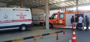 Nüfus müdürlüğünün merdiven boşluğundan düşen çocuk ağır yaralandı