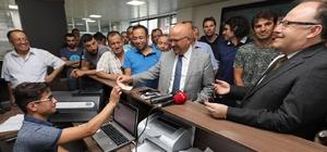 Protokol üyeleri Passolig kartlarını aldı Ptorokol üyelerinden Afjet Afyonspor'a destek