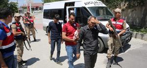 Erzincan'da 46 yabancı uyruklu yakalandı