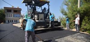 Alanya Belediyesi'nden merkezde sıcak asfalt atağı