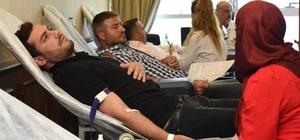 Altınordu Belediyesi'nden kan bağışına destek