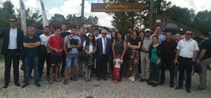 13 yabancı ülkenin basın mensupları Daday'ı ziyaret etti