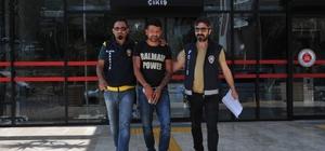 Aranan hırsız polis tarafından yakalandı