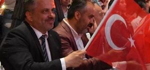 AK Parti İl Başkanı Salman,dan Bursalılara teşekkür Coşku ve heyecan kalbimizi titretti