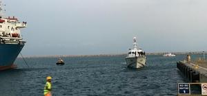 KKTC açıklarında batan tekneden kurtarılan 102 göçmen ve ulaşılan 19 göçmenin cenazesi Mersin'in Silifke ilçesine getirildi.