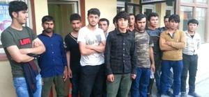 Bulanık'ta 21 kaçak şahıs yakalandı