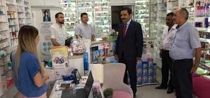 Belediye Başkanı Bahçeci, vatandaş ve esnafla projeleri değerlendiriyor