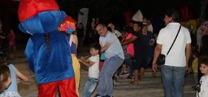 Pamukkale'den Goncalı ve Kayıhan'da çocuklara şenlik
