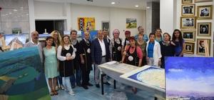 Taşköprü Belediyesi 3. Uluslararası Resim Çalıştayı başladı